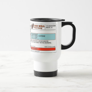 The Orginal Coffee Prescription -15 oz. Travel Mug