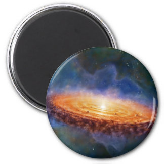 The Origin of the Solar System 6 Cm Round Magnet