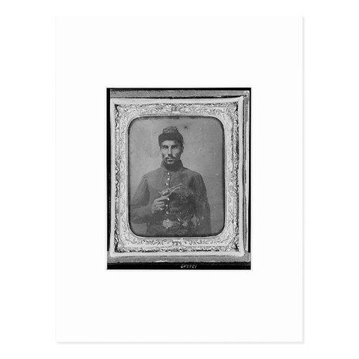 The Original Black American Soldier Post Card