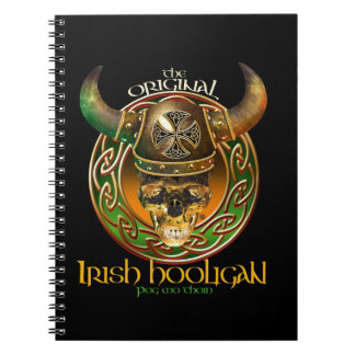 The Original Black Irish Hooligan Notebook