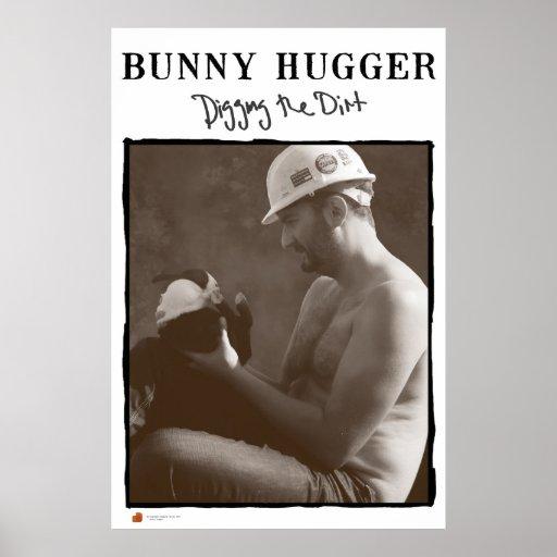 The Original Bunny Hugger Posters