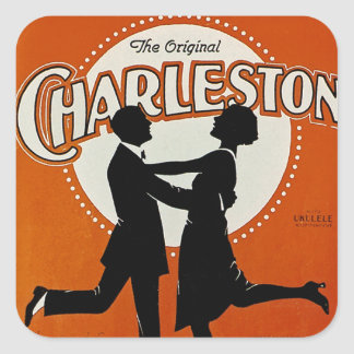 The Original Charleston Square Sticker