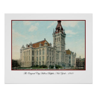The Original City Hall in Buffalo Poster