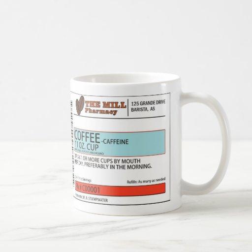 The Original Coffee Prescription Mug - 11 oz.