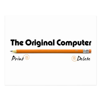 The Original Computer Postcard
