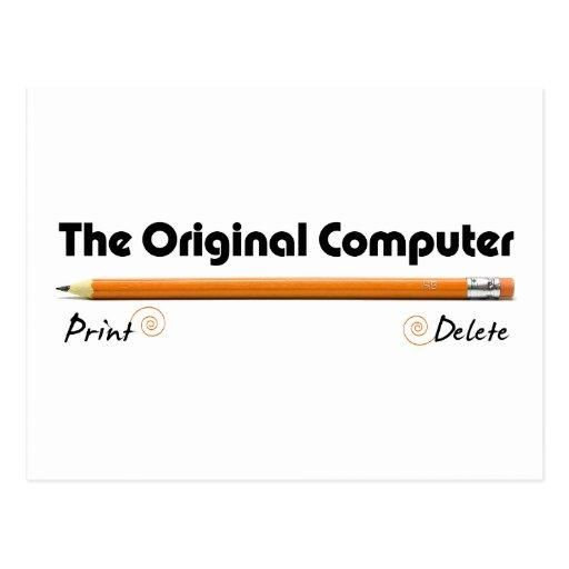 The Original Computer Post Cards