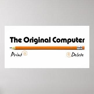 The Original Computer Print