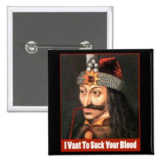 The Original Dracula, Halloween!!! 15 Cm Square Badge