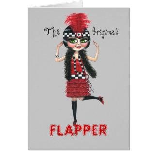 The Original Flapper Roaring '20s Card