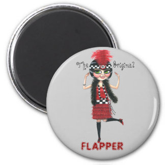 The Original Flapper Roaring '20s Magnet