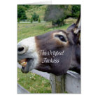 The Original Jackass Funny Donkey Mule Farm Animal Card