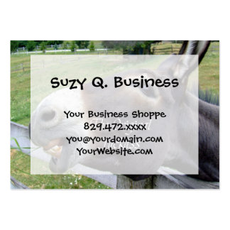 The Original Jackass Funny Donkey Mule Farm Animal Pack Of Chubby Business Cards