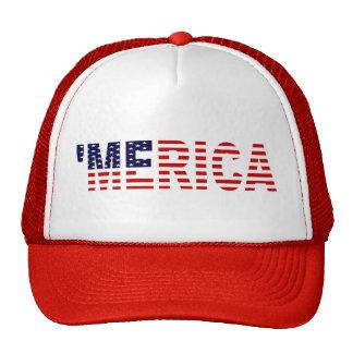The Original MERICA U S Flag Trucker Hat Hats