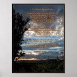 The Original Serenity Prayer Poster