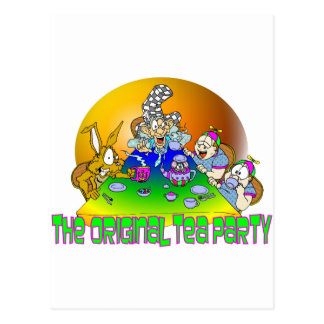 The Original TEA PARTY Postcard