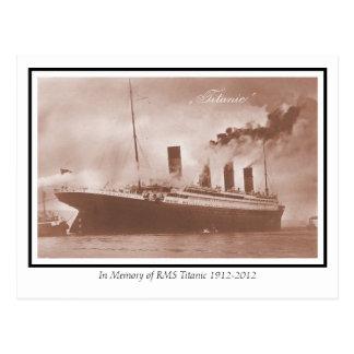 The original Titanic photo Postcard