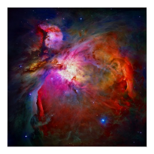 The Orion Nebula -2009 Poster