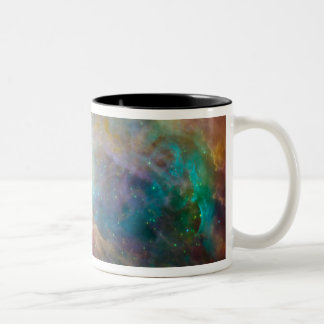 The Orion Nebula 3 Two-Tone Coffee Mug