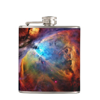The Orion Nebula Hip Flask