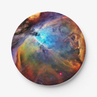 The Orion Nebula Paper Plate