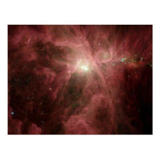 The Orion Nebula Postcards