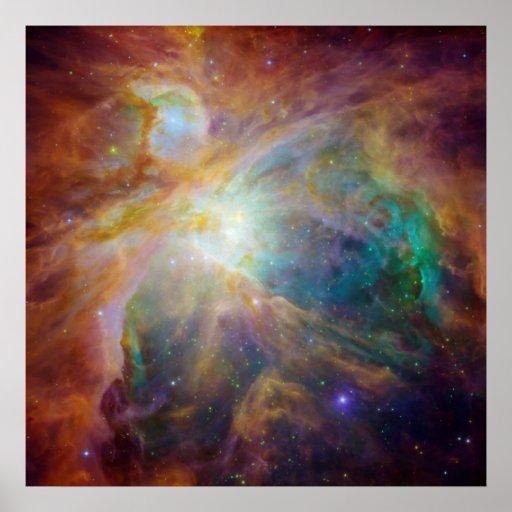 The Orion Nebula Print