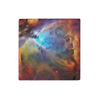 The Orion Nebula Stone Magnet