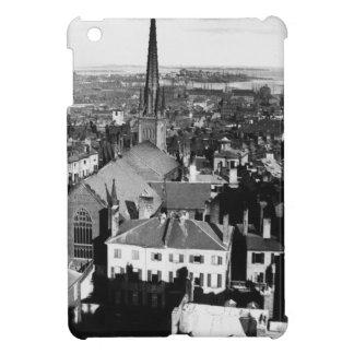 The ornamented spire of a church in Boston iPad Mini Cover