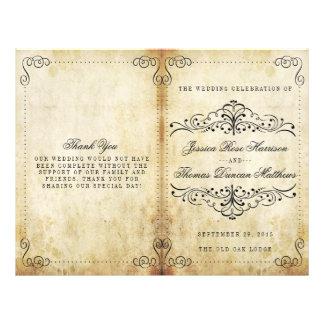 The Ornate Flourish Vintage Wedding Collection 21.5 Cm X 28 Cm Flyer