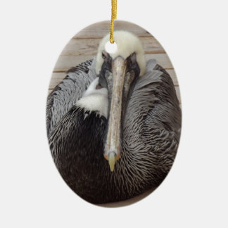 The Ornery Pelican Christmas Ornament