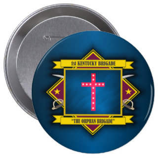 The Orphan Brigade 10 Cm Round Badge