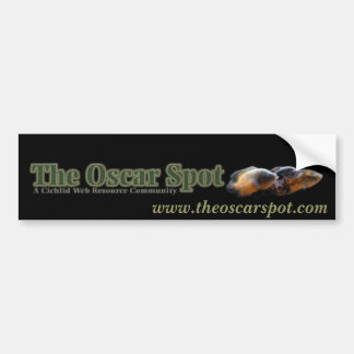 The Oscar Banner Car Bumper Sticker