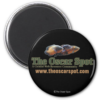 The Oscar Spot 6 Cm Round Magnet