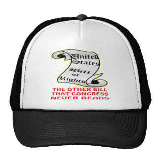 The Other Bill Congress Never Reads Bill Of Rights Hats