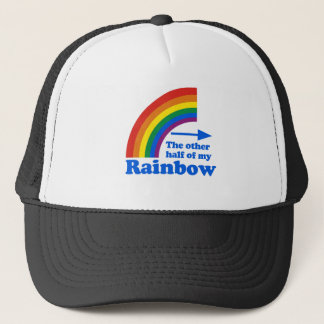 THE OTHER HALF OF MY RAINBOW (Left) Trucker Hat