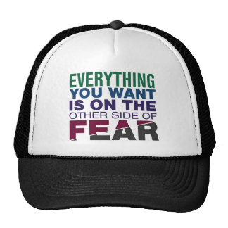 The Other Side of Fear Trucker Hats