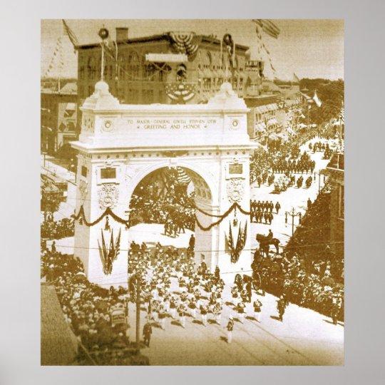 The Otis Arch Poster