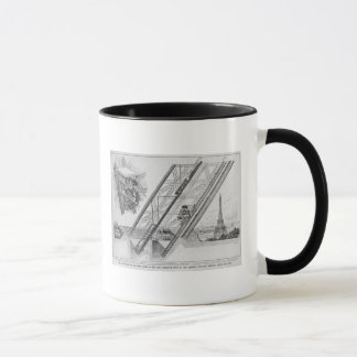 The Otis Elevator in the Eiffel Tower Mug