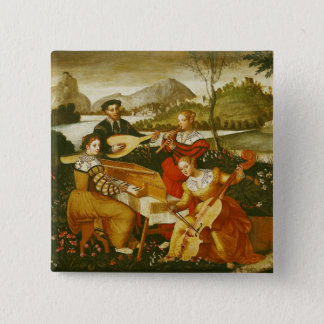 The Outdoor Concert 15 Cm Square Badge