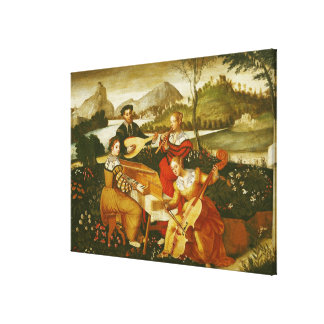 The Outdoor Concert Canvas Print