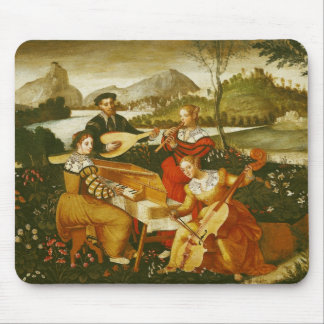 The Outdoor Concert Mouse Pad