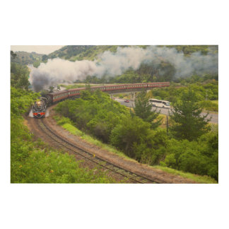 The Outeniqua Choo Tjoe, Knysna, Garden Route Wood Canvas