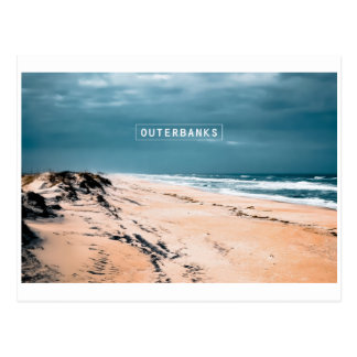 The Outer Banks - Cape Hatteras National Seashore. Postcard