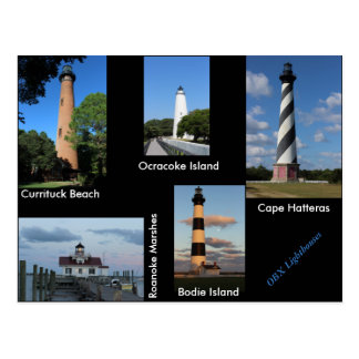The Outer Banks Lighthouses Postcard