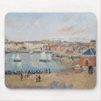 The Outer Harbour at Dieppe, 1902 Mouse Pad