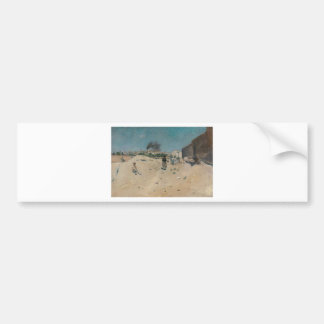 The Outskirts of Madrid by William Merritt Chase Bumper Sticker