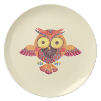 The Outstanding Owl Plate