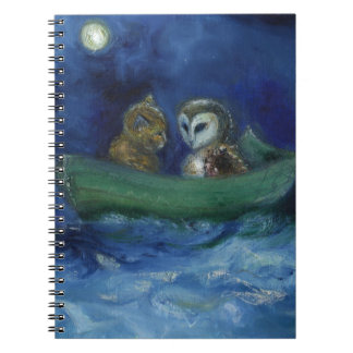 The Owl and the Pussycat 2014 Spiral Note Books