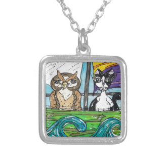 The Owl and the Pussycat Necklace
