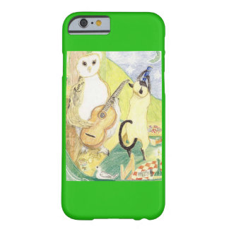 The Owl And The Siamese Cat Barely There iPhone 6 Case